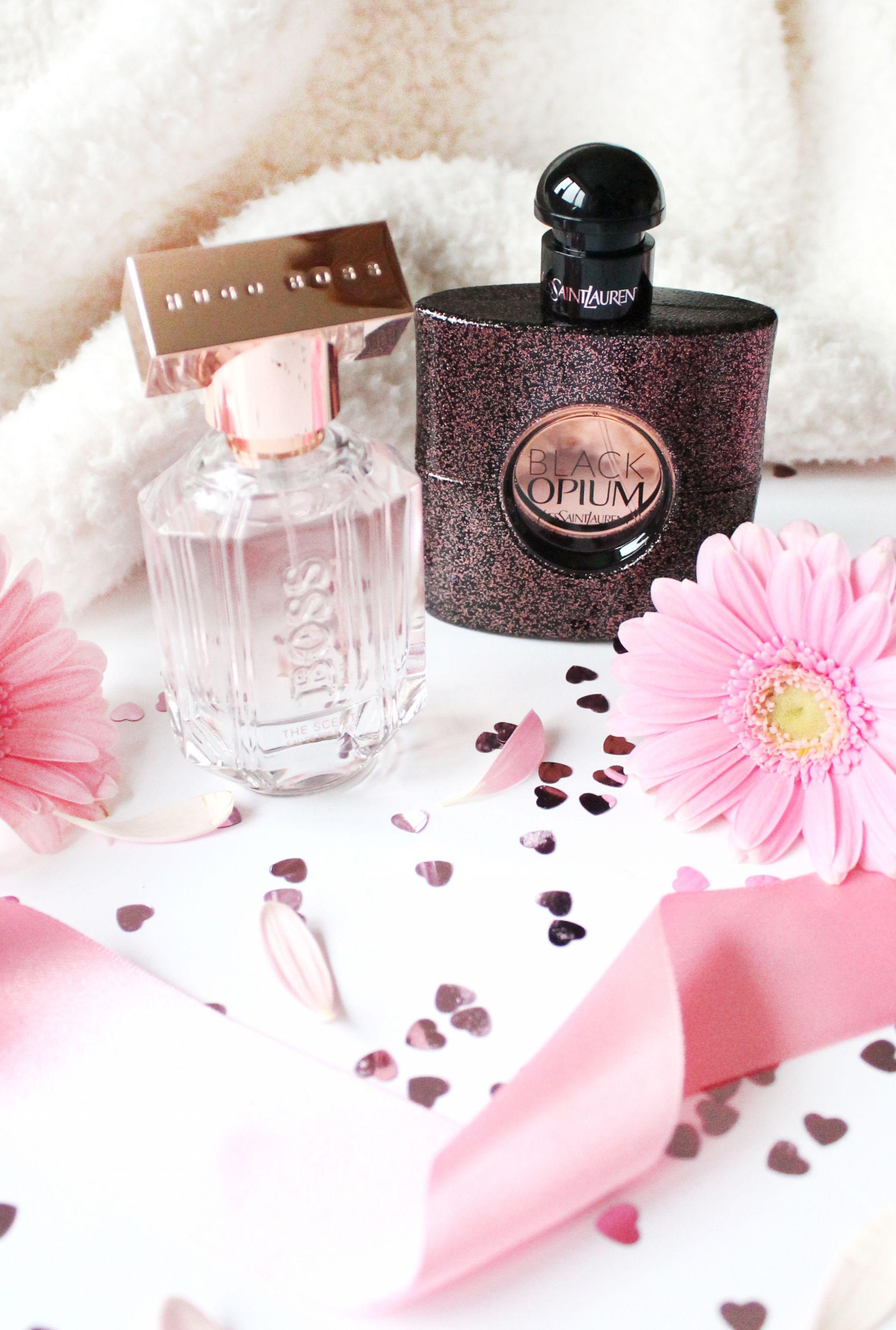 ysl, black opium, hugo boss, fragrance,