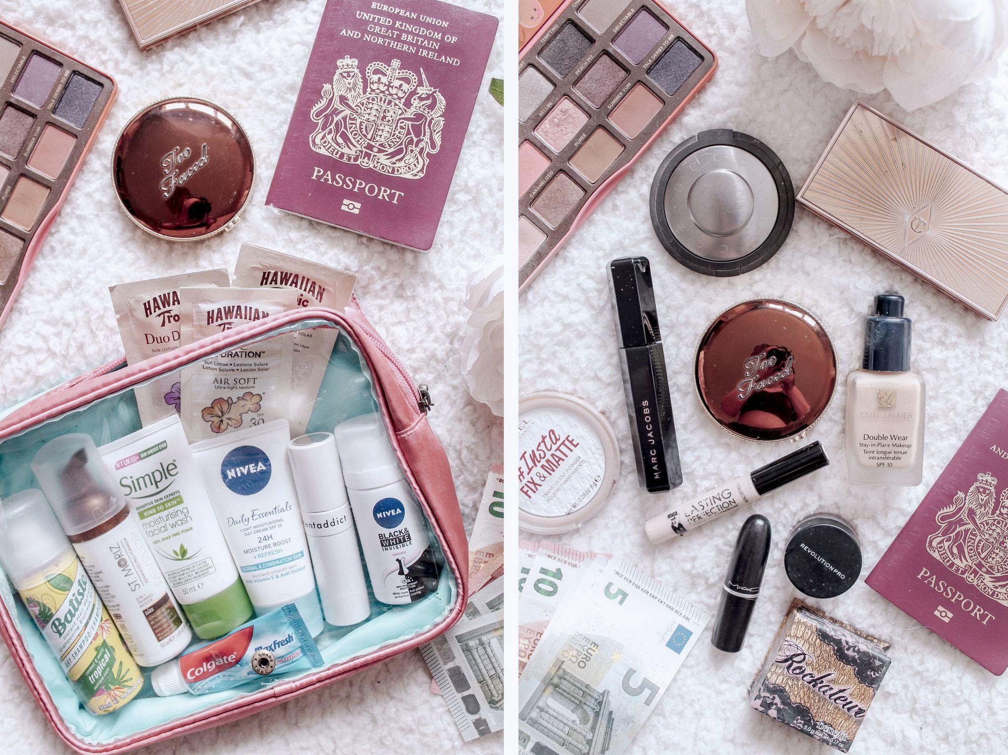 hand luggage, beauty