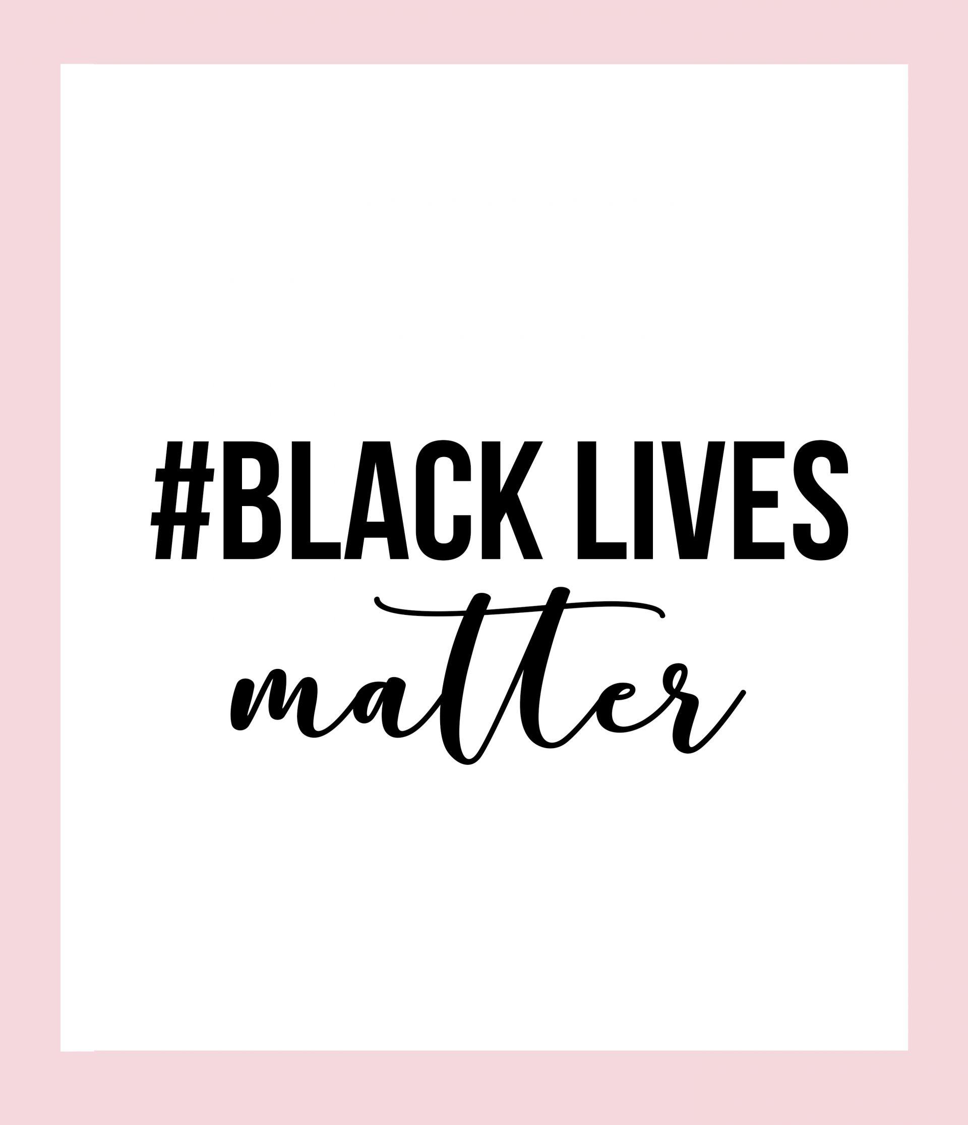 #BlackLivesMatter,