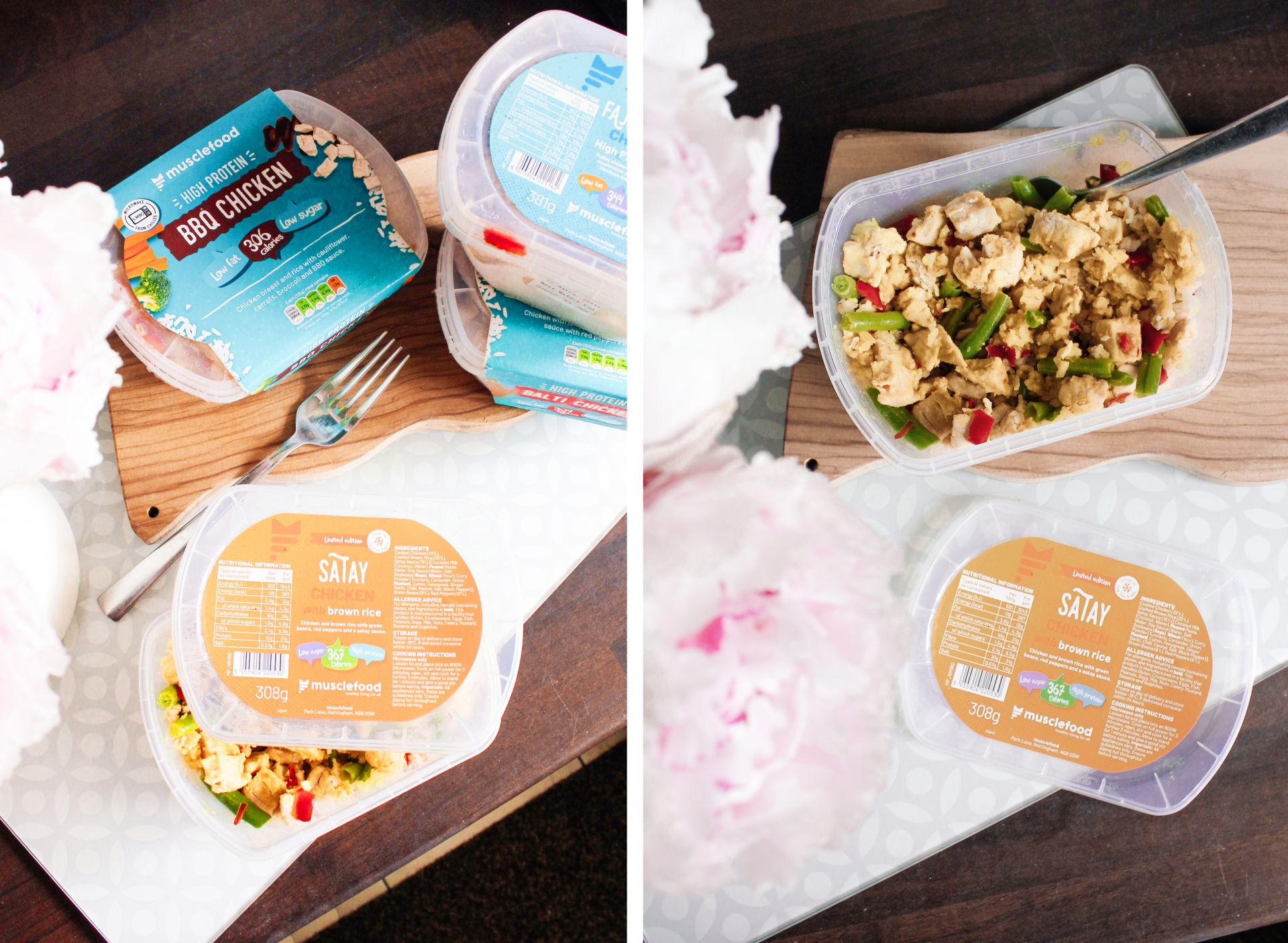 musclefood, prepped pots,