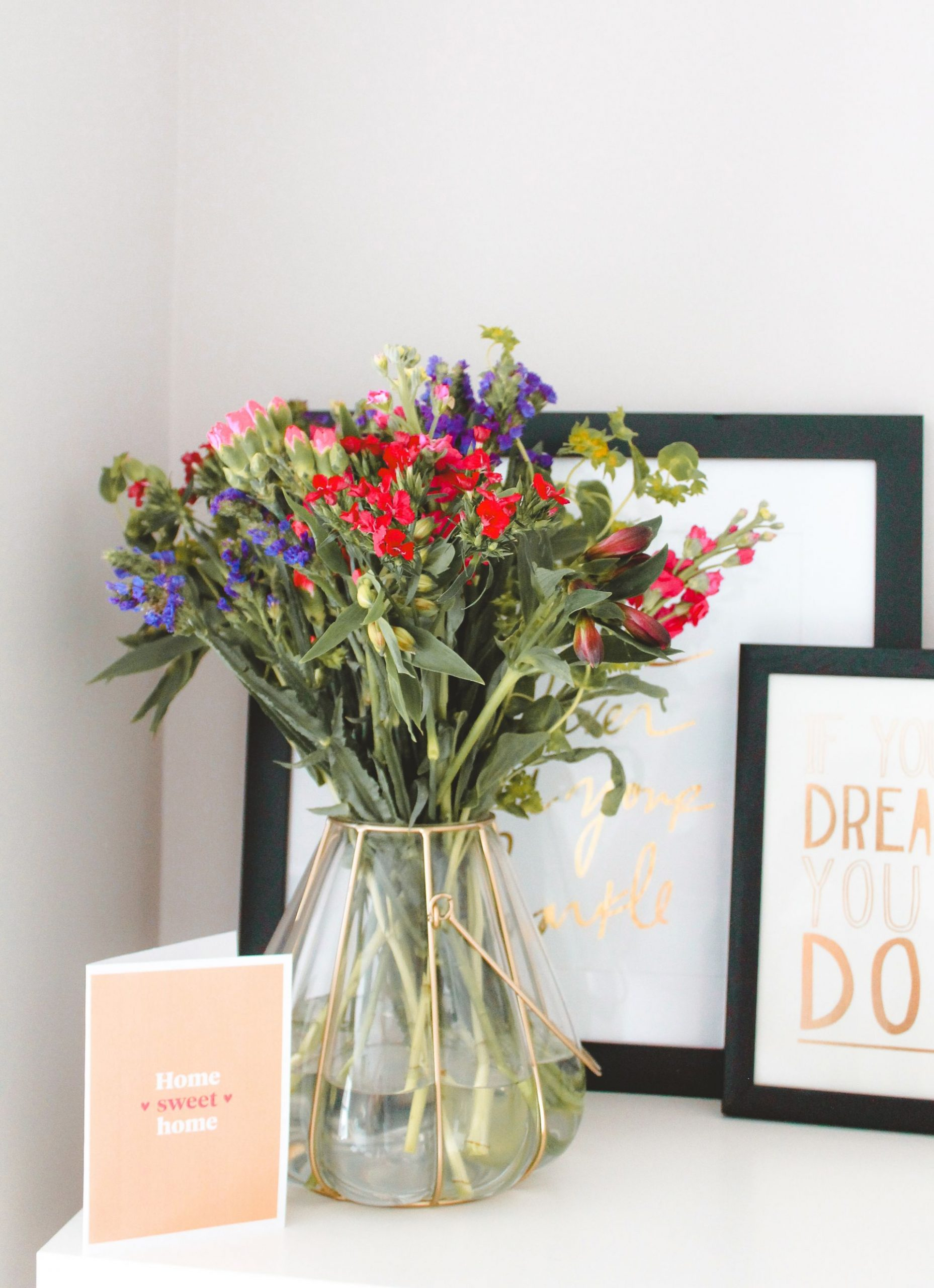 i've moved out, house sharing, flowers,